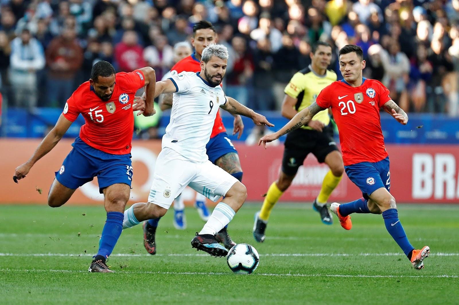 Argentina y Chile en Copa América 2019, 6 de julio