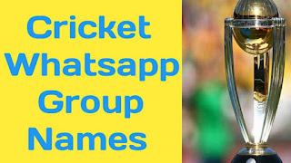 Cricket whatsapp Group Names