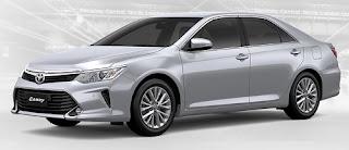 Harga Toyota Camry Silver Metallic di Pontianak
