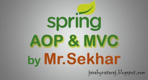 Spring AOP and MVC notes Download_JavabynataraJ