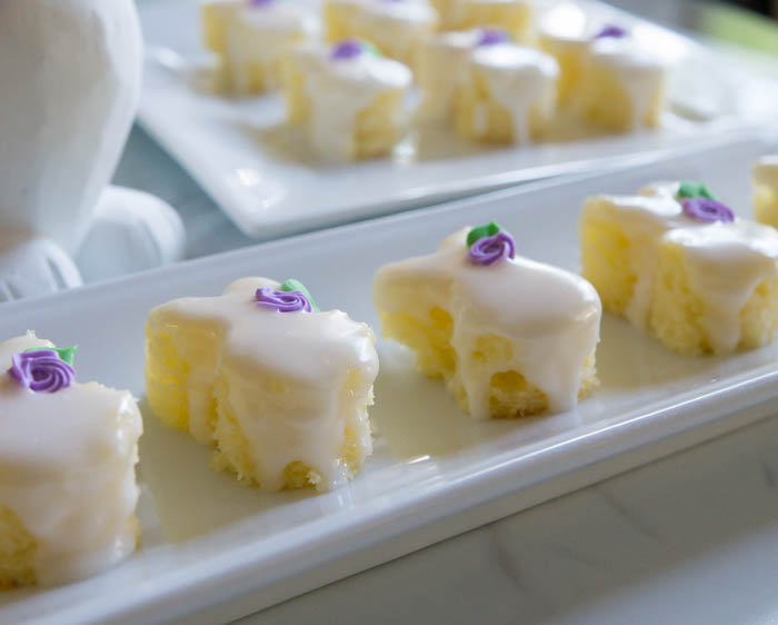Easter Bunny Almond Petits Fours