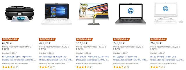 Mejores 13 ofertas de los HP Days de Amazon