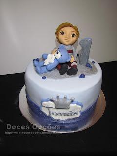 Bolo do 1º aniversário do Tomás
