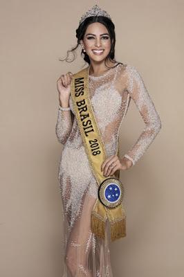 A amazonense Mayra Dias, representante do Brasil no Miss Universo - Divulgação