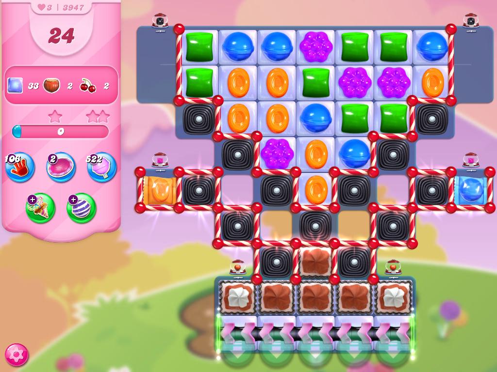 Candy Crush Saga level 3947