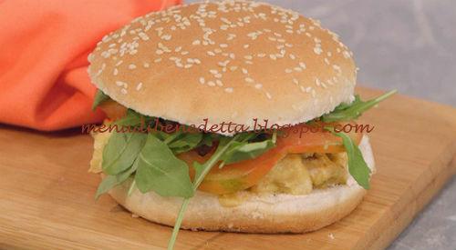 La Cuoca Bendata - Hamburger di pollo e guacamole ricetta Parodi