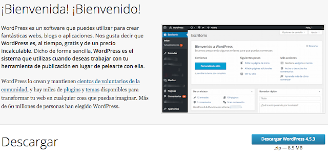 Curso de Wordpress desde cero - Instalación de Wordpress ~ Darwin ...