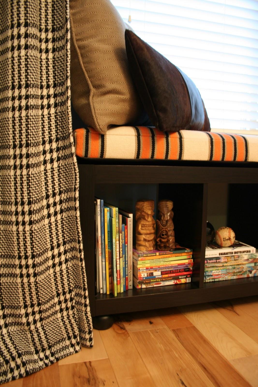 Design Dump Ikea Rug Into A Window Seat Cushion