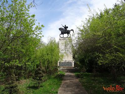 Statuie Stefan cel Mare Suceava