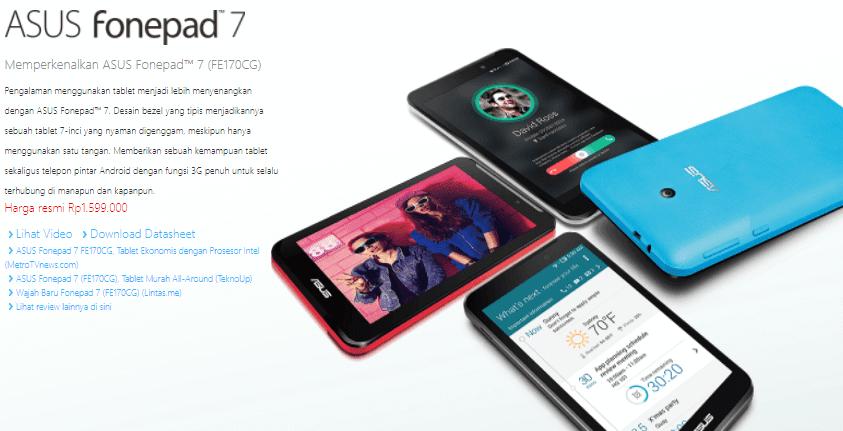 Stock Firmware Asus Fonepad 7 (FE170CG)