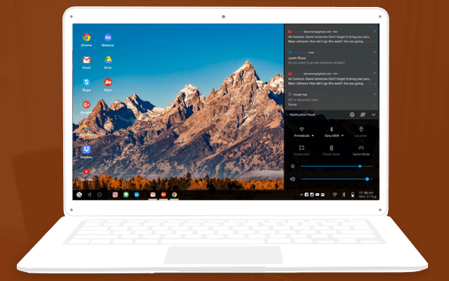 primeos, a lightweight operating system similar to windows but is an android will bring life to your old computer! download and install it