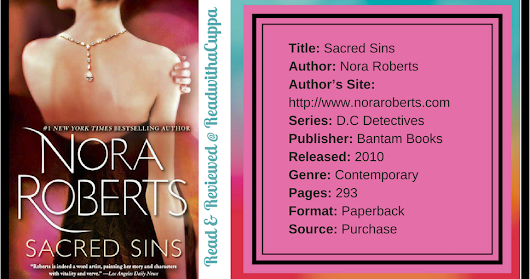 Book Review | Sacred Sins | Nora Roberts