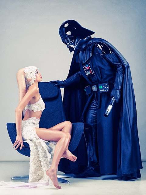darth vader with a twilek cosplay
