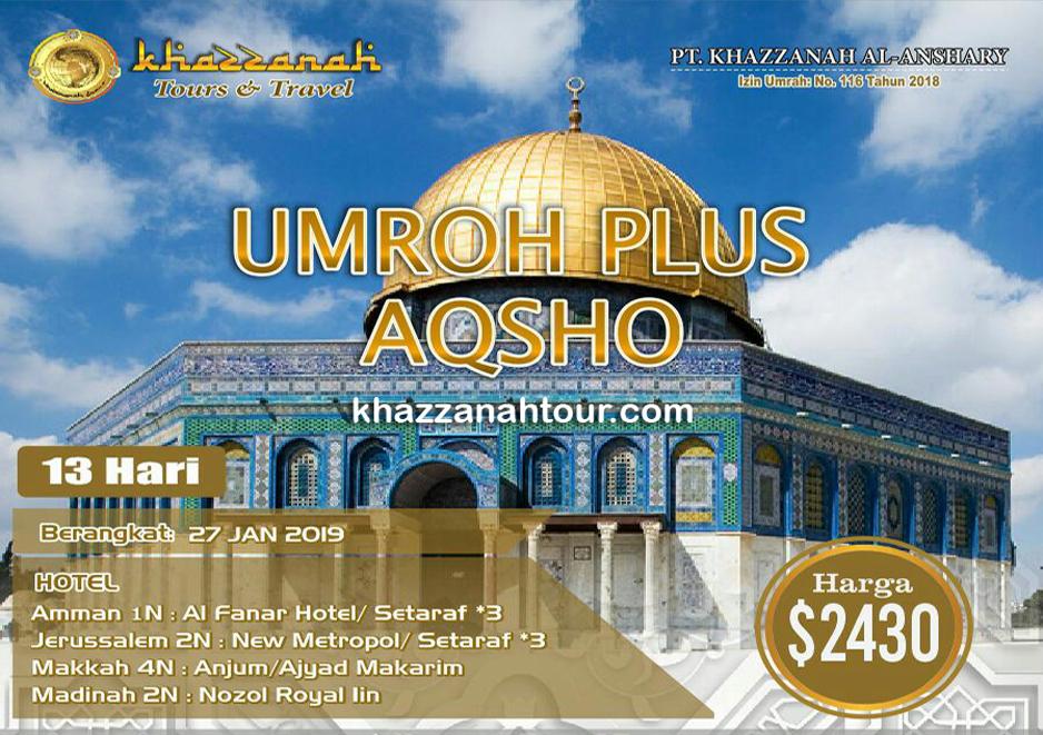 Umroh Khazzanah Tour Plus Aqso