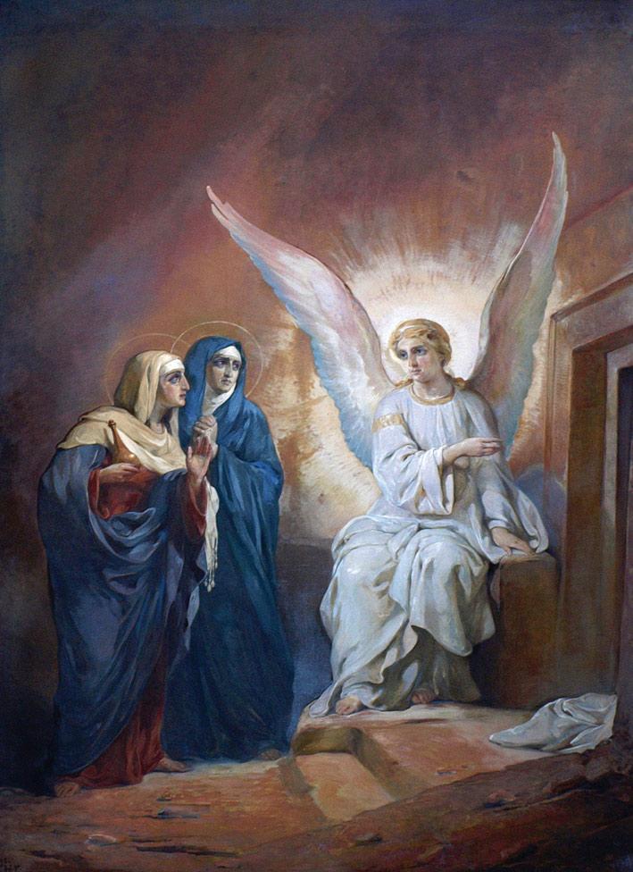 Resultado de imagen de el ángel habla a las mujeres