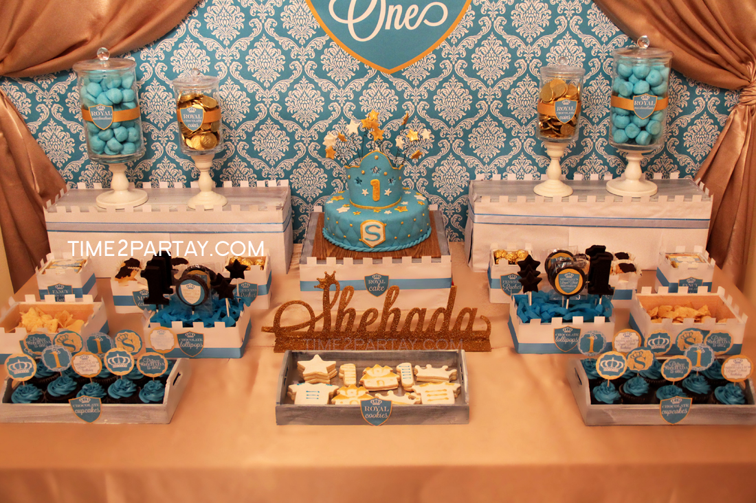 A Royal First Birthday For A Little Prince Time2partay Com