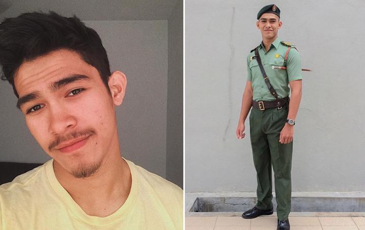 Gambar Nafiz Muaz Pelakon Budak Boys, Kacak Berpakaian Tentera