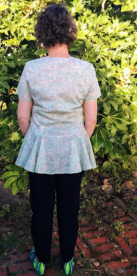 Creates Sew Slow: Oki Style Madrid Isle of Wight Blouse