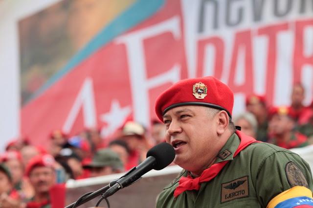 EEUU pone lupa en Diosdado Cabello tras congelar cuentas de El Aissami