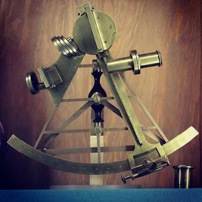 Sextante de Napoleón en el Museo de Instrumentos Científicos de la Universidad Jaguelónica de Cracovia