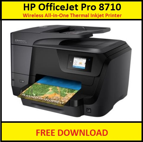 HP OfficeJet Pro 8710 Software & Drivers Download