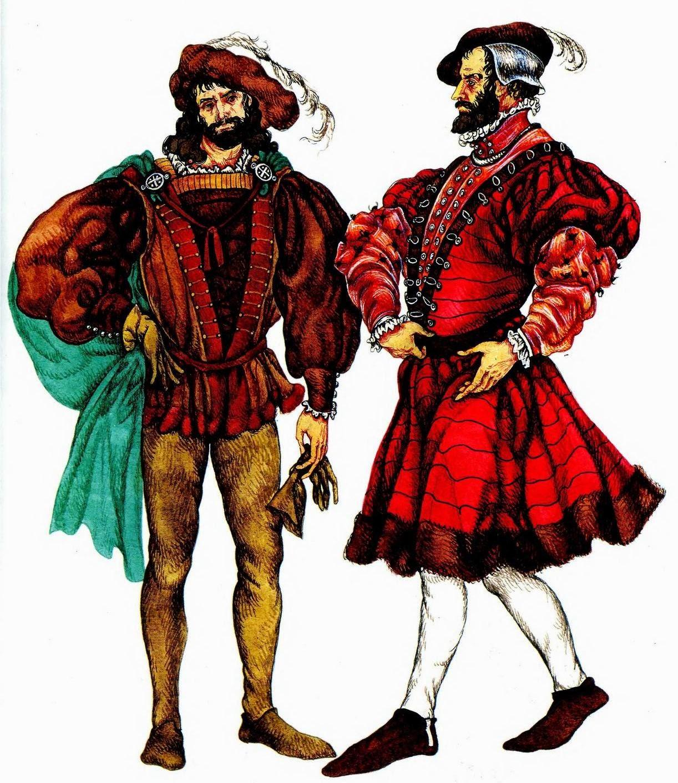 700ebcd5d83e Сундук Истории  Французский костюм эпохи Возрождения