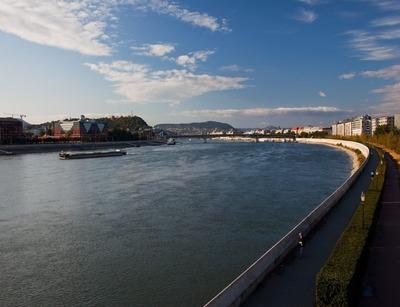 Набережная Дуная