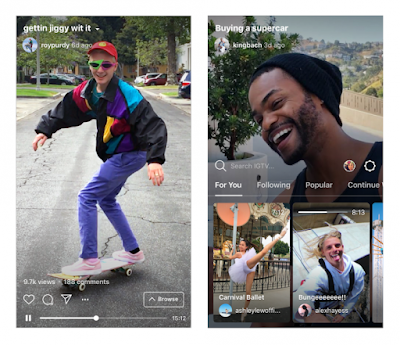 Instagram Launches YouTube Competitor IGTV