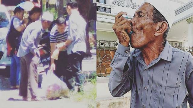 Kisah Kakek Penjual Kerupuk, Mengidap Penyakit Asma, Kaki Kanannya Patah dan Sebatang Kara