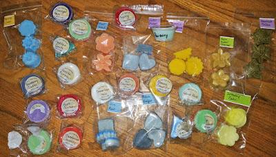 Sizzlin Scents Wax Melts