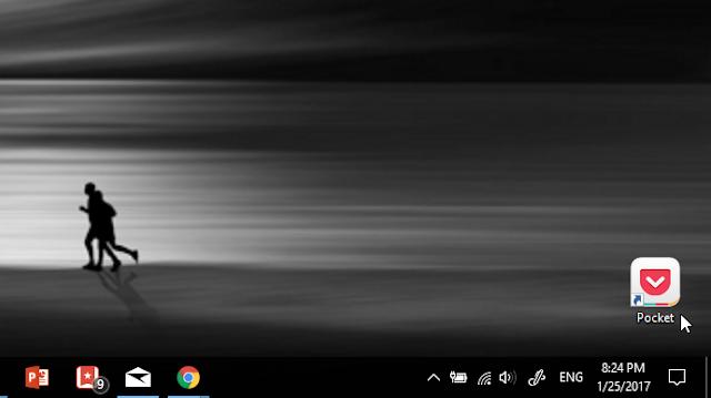 Buat Shortcut Situs Web dari Chrome di Desktop