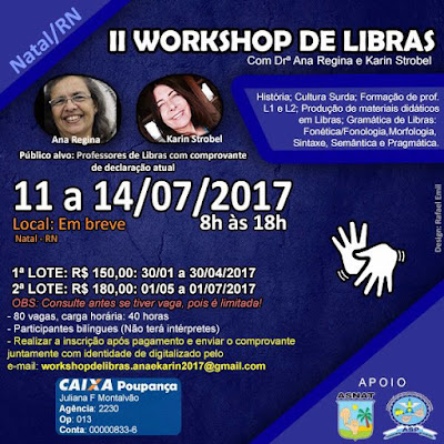 II WORKSHOP DE LIBRAS