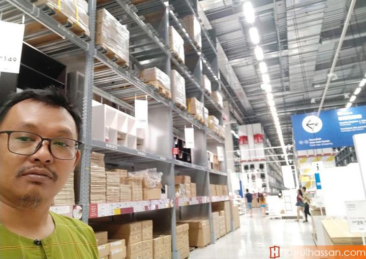 Shopping Raya di IKEA Penang