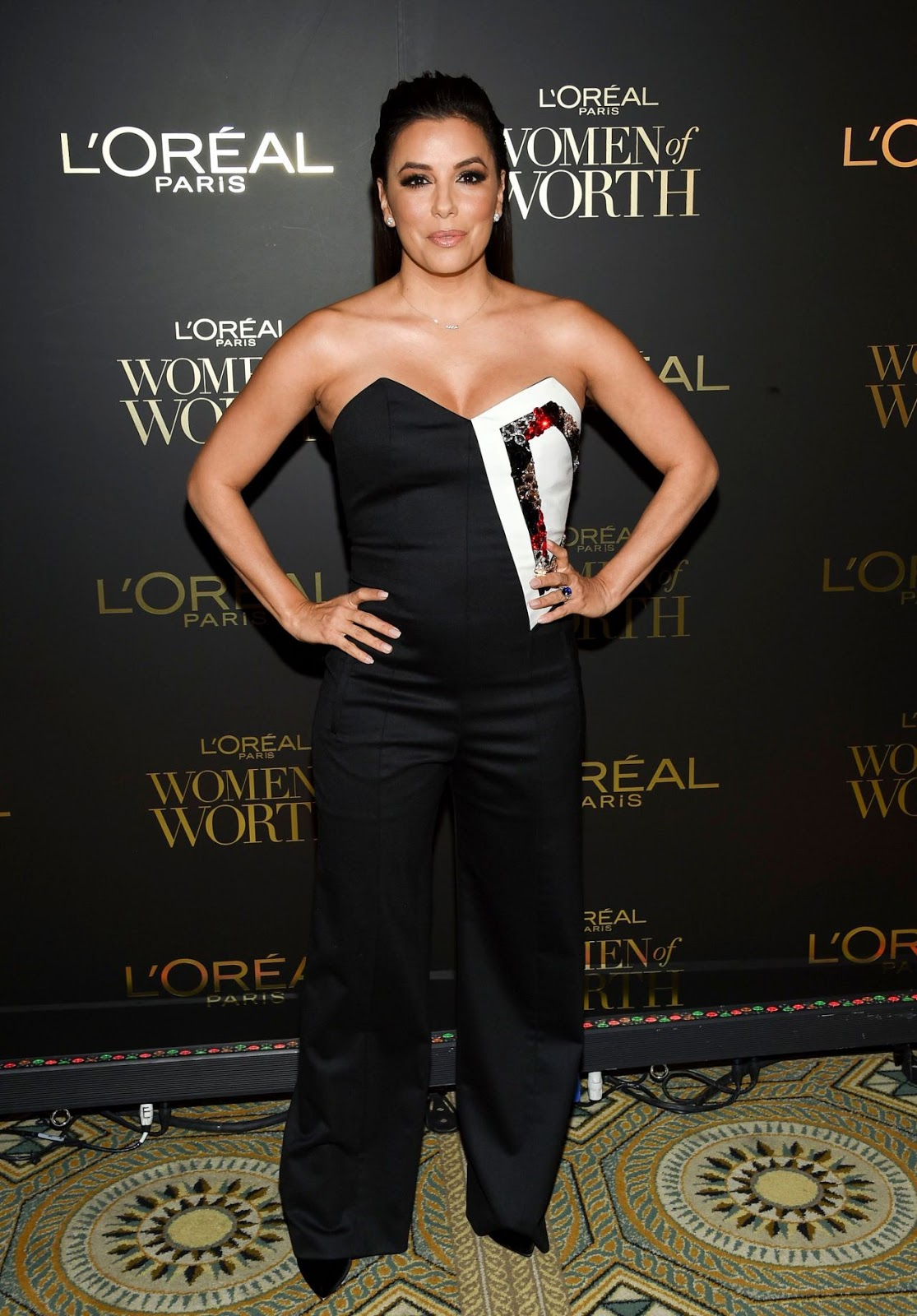 Eva Longoria talks body confidence at the 2018 L'Oreal Women of Worth Awards in NY
