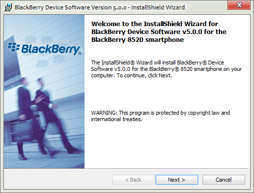 Install Official Firmware BlackBerry Curve 8520 Bundle 1831