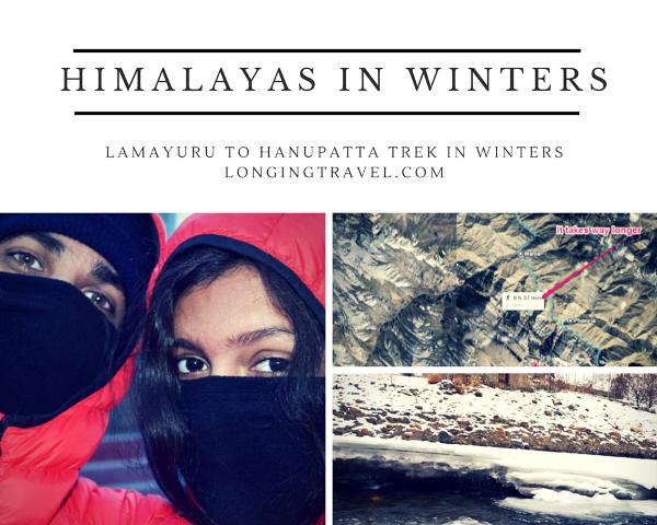 Trekking Himalayas in Winter- Lamayuru to Hanupatta