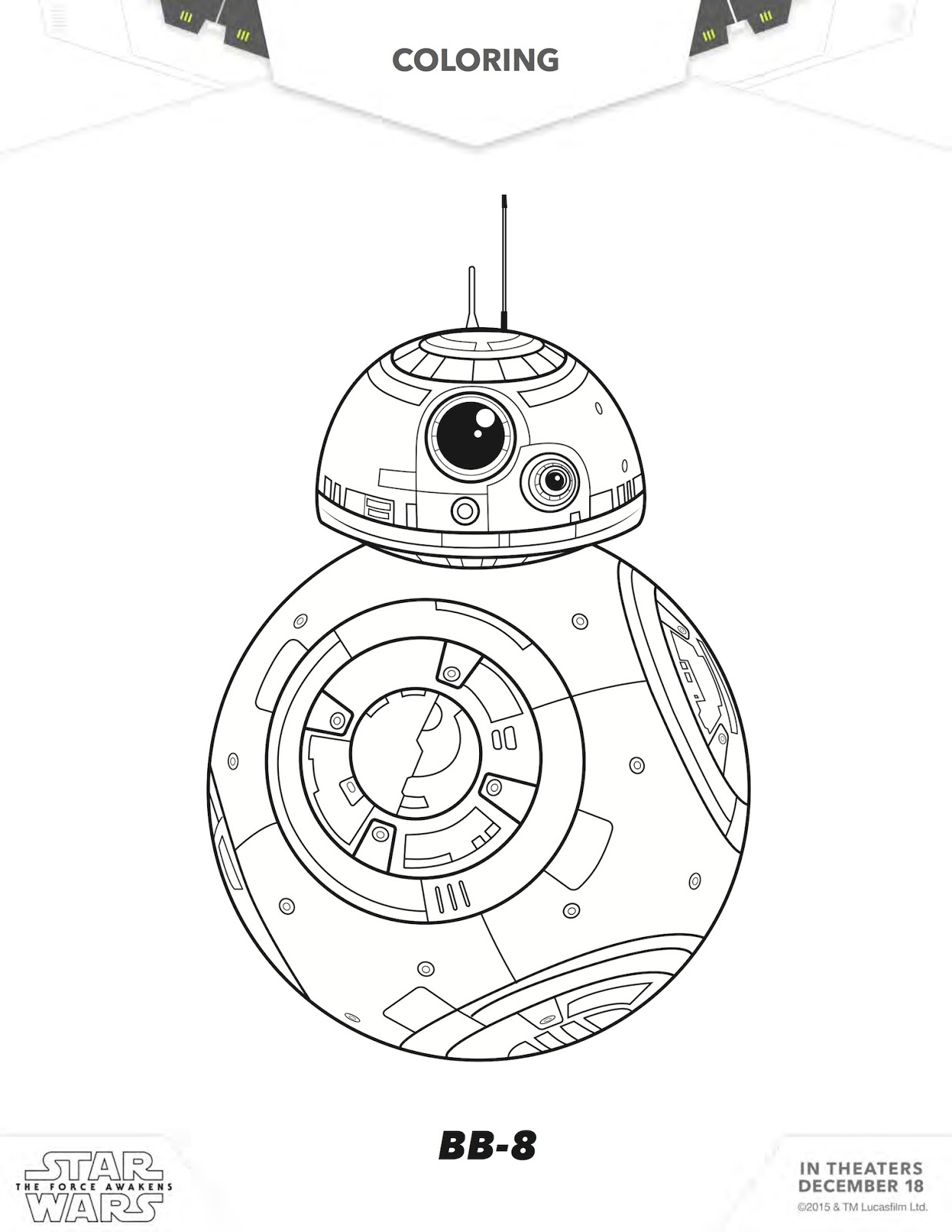Free Star Wars Printables 20 Star Wars Activity Sheets