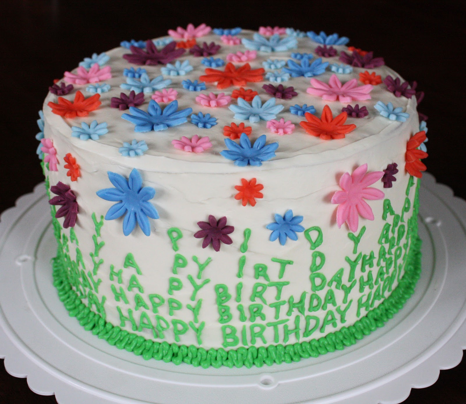 Straight To Cake: Mom's Spring Birthday Cake