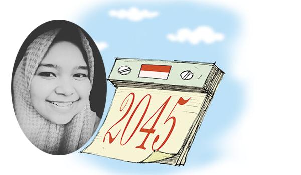 Menuju Indonesia Emas 2045