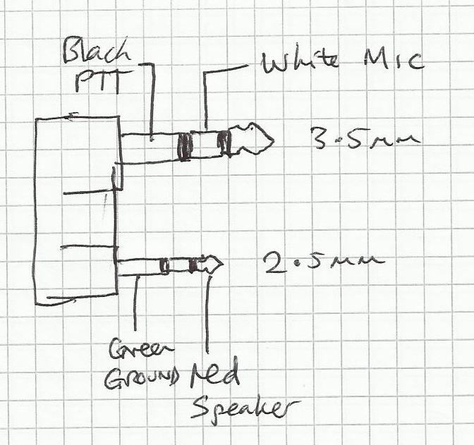 m0wye u0026 39 s blog  microphone and speaker connections for tyt md380