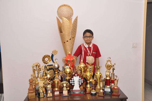 VIBGYOR High student makes it to the top at 32nd Under 7 National Chess Tournament 2018 (pr)