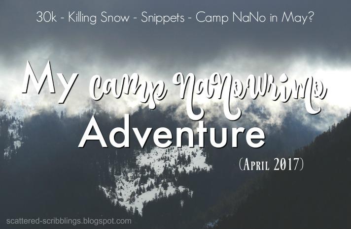 My Camp NaNoWriMo Adventure - Header Image