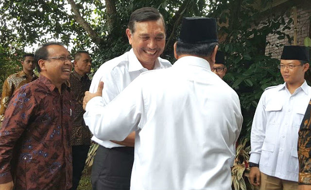 Luhut dan Prabowo bertemu diam-diam di Grand Hyatt, ini kata Gerindra