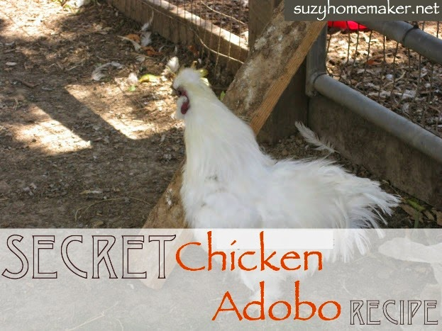 secret chicken adobo recipe | suzyhomemaker.net