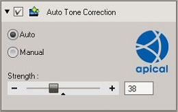 OV3 Auto Tone Correction tool