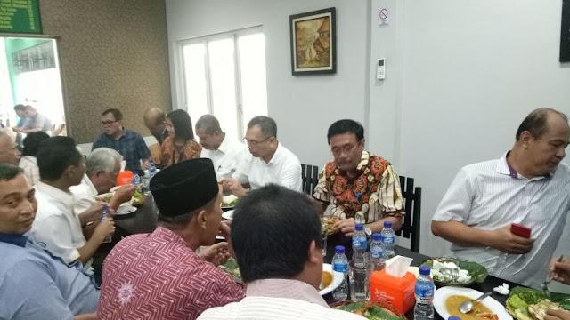 Djarot-Sihar Silahturahmi dengan Suku Jawa di Medan