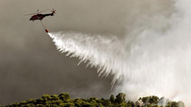 64 δασικές πυρκαγιές σε ένα 24ωρο - Η κατάσταση με τα πύρινα μέτωπα στις Κεχριές και στην Ηλεία