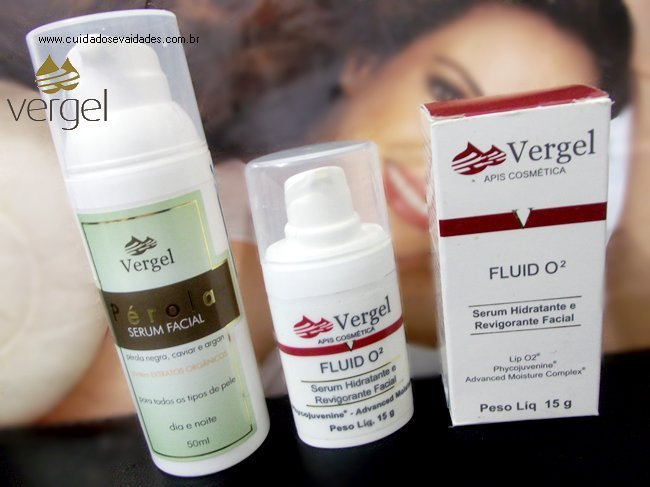 Serum Facil e o Fluid 02 Serum da Vergel.