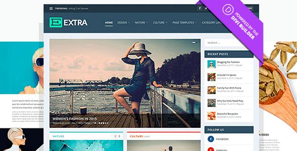 Free Download Extra Elegantthemes WordPress Theme