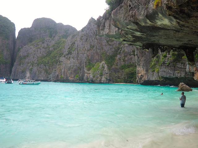 Maya Bay, Phi Phi Leh island, near Krabi, Thailand